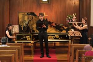 フルートとチェンバロのコンサート2016